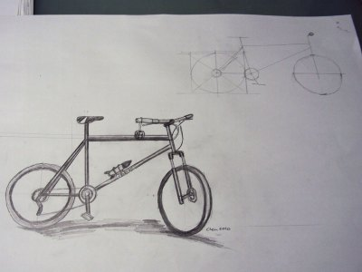 Moutain Bike Sketch