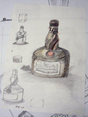Bottles ( empty no booze :( )