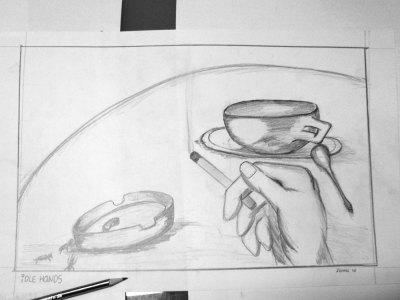Cafe Sketch