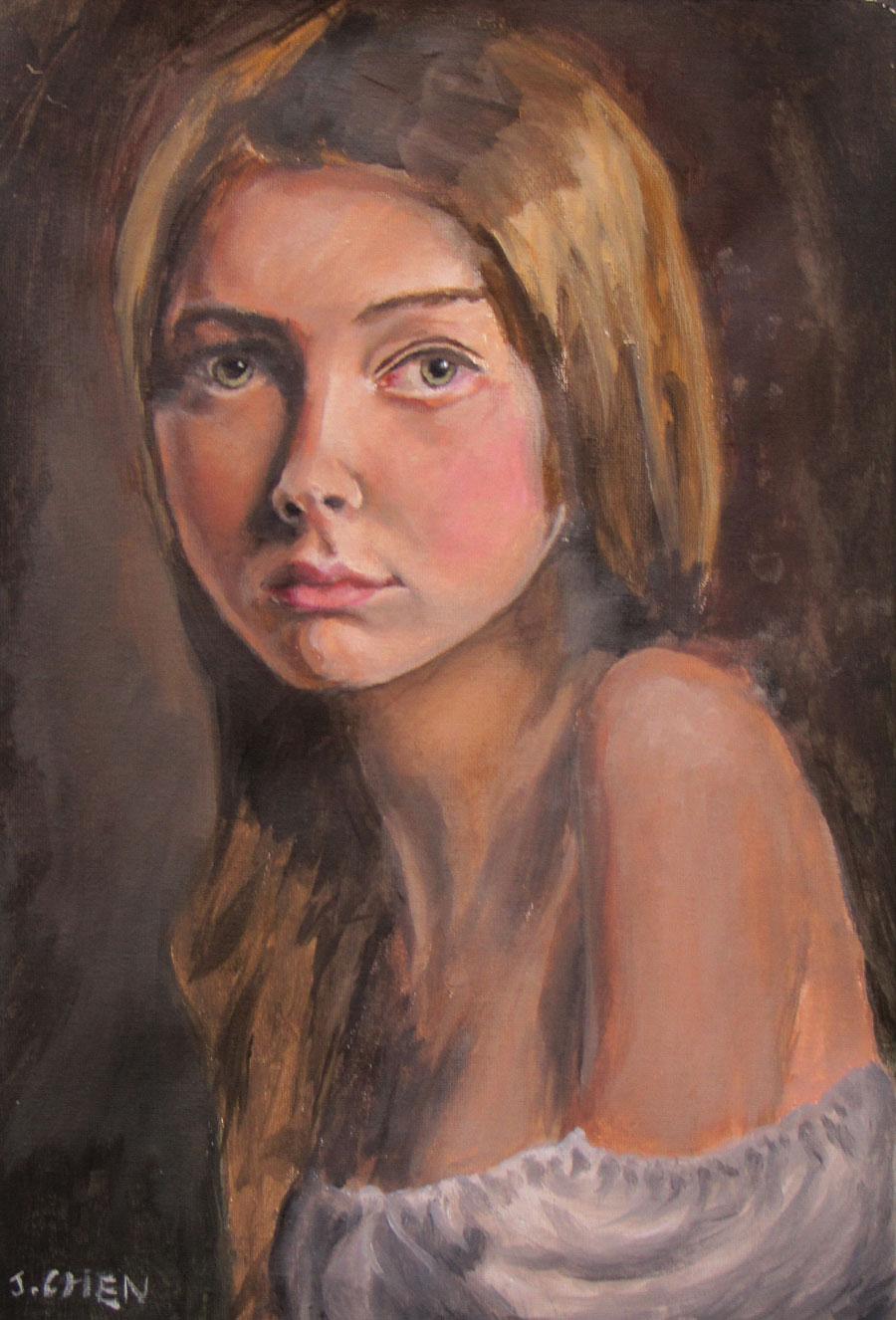 Young Girl - John Chen